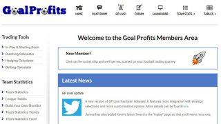 Goal Profits Football Trading Community Members Area