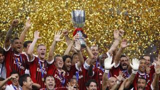 AC Milan - 2011 Italian Supercup