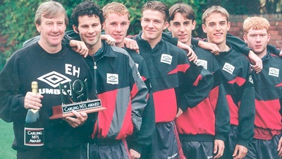 The Class of 92 became a key part of Ferguson's United squad.