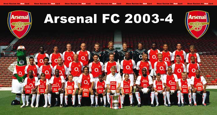 Arsenal's 2003/04 unbeaten season: From Premier League