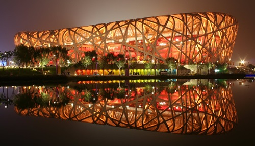 The Beijing National Stadium cost upwards of $400 million to construct.