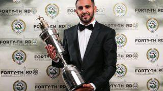 Riyad Mahrez was crowned 2016 PFA Player of the Year.
