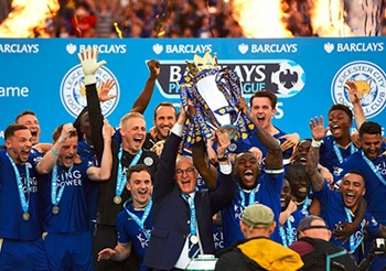Leicester City emerged as champions in the 2015/16 Premier League campaign.