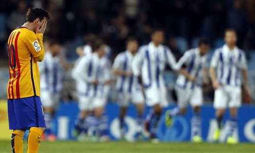 Real Sociedad's victory over Barcelona could have cost the punter £1.5 million.