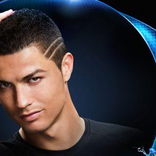 Cristiano Ronaldo advertises Unilever's Clear anti-dandruff shampoo.