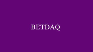 The BETDAQ logo on a plain purple background.