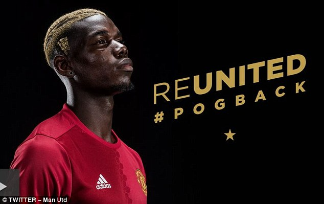 Paul Pogba is unveiled following his return to Manchester United.