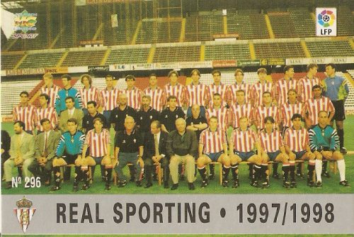 Sporting Gijon's squad for the 1997/98 season.