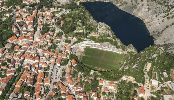 The Stadion Gospin Dolac, located in Imotski, Croatia.