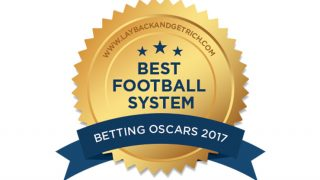 Betting System Oscar award for Best Football System 2017